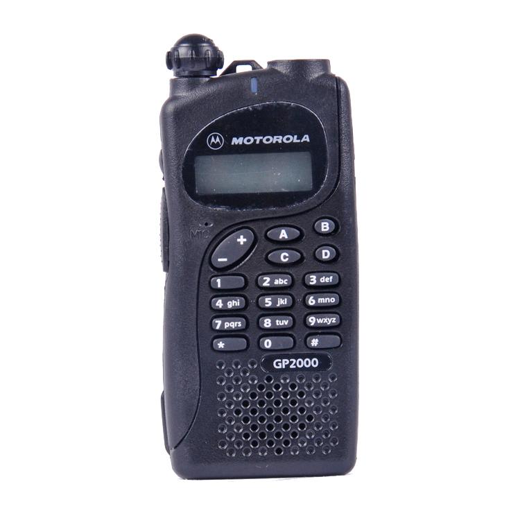 摩托罗拉gp2000对讲机手动编程说明